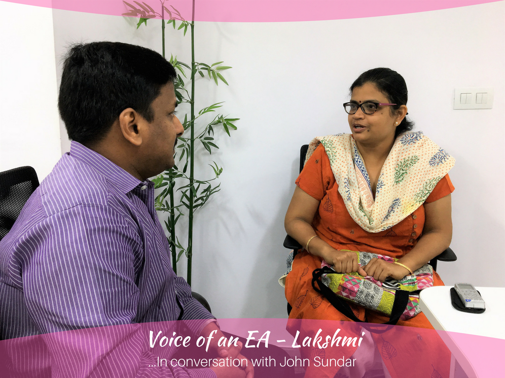 Voice of an EA - Lakshmi