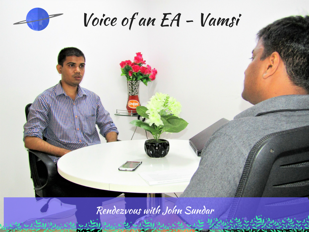 Voice of an EA - Vamsi